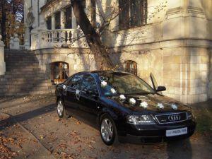 Audi A6 Wynajem do Ślubu
