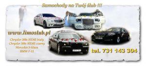 Auta do slubu Dębica, luksusowe samochodyślubne,podkarpackie