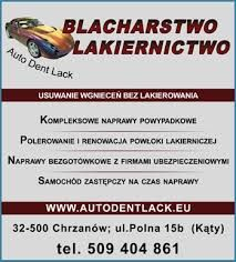 AUTO DENT LACK - Blacharstwo Lakiernictwo