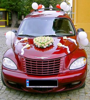 Auto do ślubu Chrysler PT Cruiser