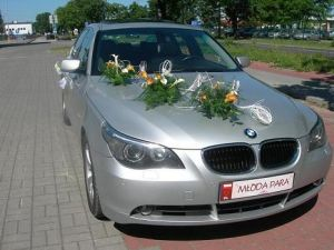 AUTO DO ŚLUBU LUKSUSOWE BMW 5 BMW 5 E-60