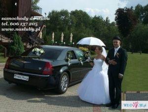 AUTO do ŚLUBU,  wynajem limuzyn, samochód na wesele
