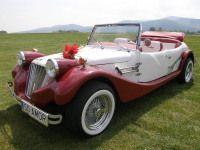 Auto i Slub AMOR