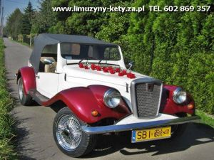 AUTO NA ŚLUB - Limuzyny - Luksusowe - Zabytkowe - Retro