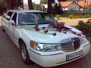 Biały lincoln - limuzyna na wynajem