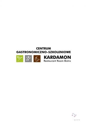 Centrum Gastronomiczno-Szkoleniowe KARDAMON