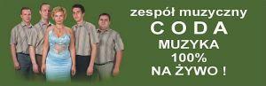 CODA - zespół muzyczny - MUZYKA 100% NA ŻYWO