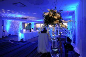 Dekoracja światłem, dekoracja sal, oświetlenie na wesele