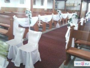 Dekoracje sal i kościołów