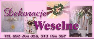 Dekoracje ślubne Oświęcim
