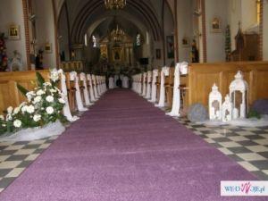 Dekoracje ślubne Pułtusk i dalekie okolice :)