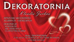 DEKORATORNIA-Klaudia Jachna