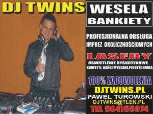 DJ TWINS NA WESELE WESELA BIAŁYSTOK PODLASIE