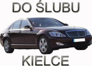 Do ślubu wiśniowym Mercedesem S500