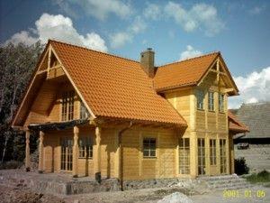 Domy z drewna - domy szkieletowe i domy z bali