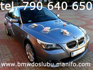 Ekskluzywne BMW 5 do Ślubu.
