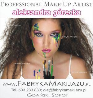 FABRYKA MAKIJAŻU - WIZAŻ, MAKIJAŻ ŚLUBNY- Gdańsk, Sopot