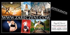 """Foto-Studio """"WWW.ZARECZENI.COM"""" Fotografia Ślubna"""