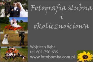 fotobomba - fotografia ślubna i okolicznościowa