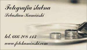Fotografia ślubna - Sebastian Kamiński