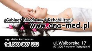 "Gabinet Bioodnowy i Rehabiliracji ""Ana-Med"""
