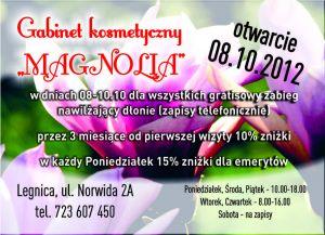 Gabinet Kosmetyczny Magnolia Legnica Baza Firm Salony Kosmetyczne