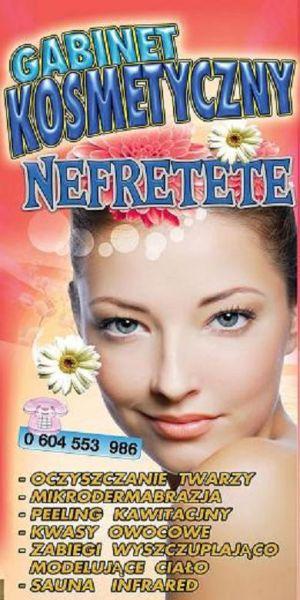 """Gabinet Kosmetyczny """"Nefretete"""""""