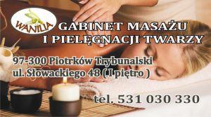"""Gabinet Masażu i Pielęgnacji Twarzy """"WANILIA"""""""