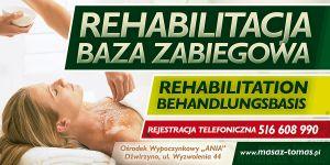 gabinet masazu,rehabitacja