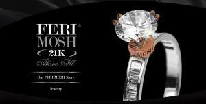 GWT Kanadyjski Ekskluzywny Dom Mody FERI MOSH - Biżuteria