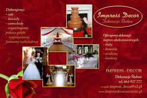 IMPRESS DECOR - dekoracje ślubne i okolicznościowe