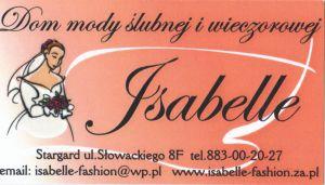 """""""Isabelle""""Dom mody ślubnej i wieczorowej"""