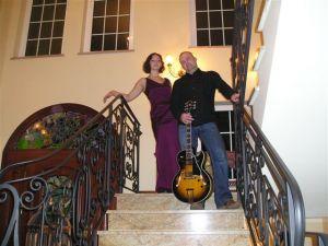 Jazz Tonight -- kameralny duet grający standsrdy jazzowe na przyjęcie weselne
