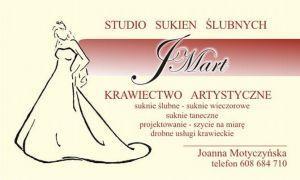 JMart Studio Sukien Ślubnych i Wieczorowych - Usługi Krawieckie