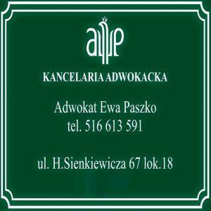 Kancelaria Adwokacka w Płocku Adwokat Ewa Paszko
