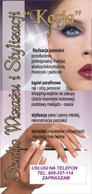 """""""Kesja"""" Studio Wizażu i Stylizacji.Monika Karaś"""