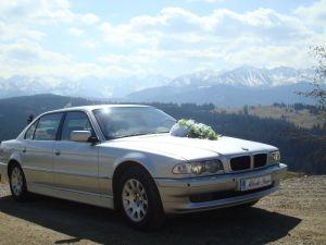 limuzyna bmw wesele ślub przewóz osób transfery z lotniska