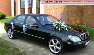 Limuzyna do ślubu MERCEDES S-KLASSE LONG. Samochód na wesele