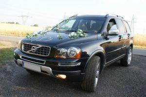 Limuzyna Volvo XC90 Czarny, 7 miejsc