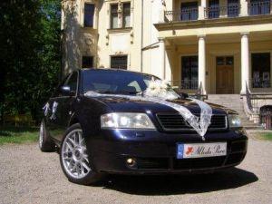 Luksusowe Audi a6 do ślubu wraz z kierowcą