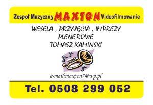 MAXTON Zespół muzyczny Videofilmowanie Foto