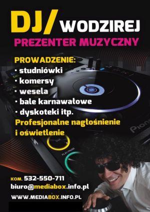 MEDIABOX DJ WODZIREJ Grzegorz Świstuń
