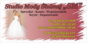 """""""MODA ŚLUBNA SM"""" - Suknie Ślubne Złotoryja"""