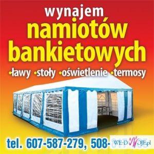 NAMIOTY BANKIETOWE WYNAJEM NA KASZUBACH POMORSKIE