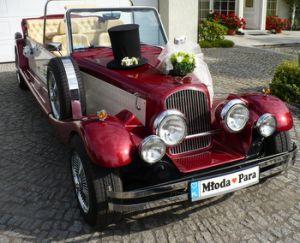 Nestor-samochód retro do ślubu