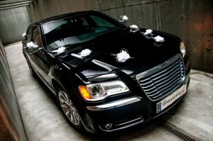 Nowy Chrysler 300C  - Auto do slubu