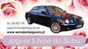 Piękny samochód do ślubu Kraków - wyjątkowy Jaguar S-Type