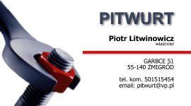 """""""PITWURT""""   Piotr Litwinowicz"""