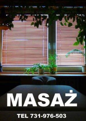 Profesjonalny masaż Warszawa Bielany, masażysta Maciek Roszk