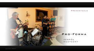 PROFORMA zespół muzyczny 100% muzyki na żywo